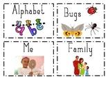 Kindergarten Library Labels