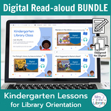 Kindergarten Library Orientation Digital Read-aloud BUNDLE