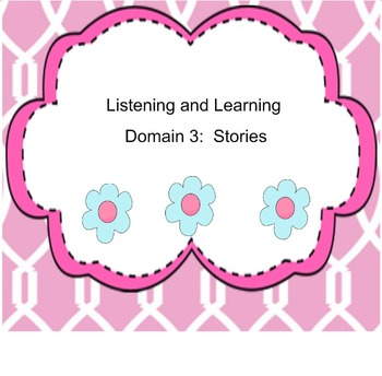 EngageNY Kindergarten Listening and Learning Domain 3: Stories