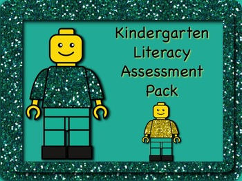 Kindergarten Literacy Assessment Pack - Back to School and
