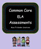 Common Core ELA Assessments