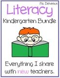 Kindergarten Literacy Bundle For The Tired Teacher