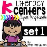 Kindergarten Literacy Center Bundle
