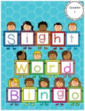 Kindergarten Literacy Center - Sight Word Bingo - Quarter 1