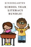 Kindergarten Literacy Centers -Bundle of Bundles