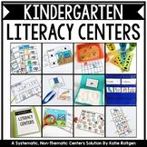 Kindergarten Literacy Centers GROWING Bundle