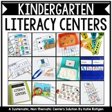 Kindergarten Literacy Centers Bundle