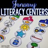 Kindergarten Literacy Centers January