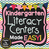 Kindergarten Literacy Centers Made EASY!