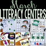 Kindergarten Literacy Centers March