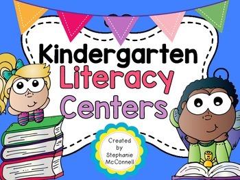 Kindergarten Literacy Centers Part 3