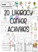 Kindergarten Literacy Centers Unit 8 {April}