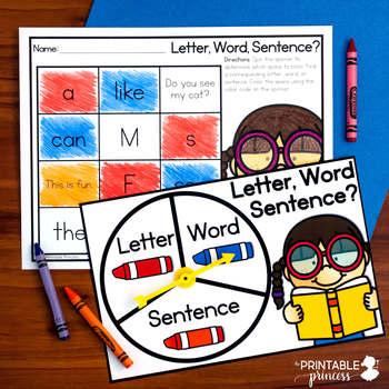 Kindergarten Literacy Centers: Year Long Activities
