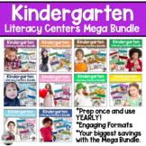 Yearlong Kindergarten Literacy Centers