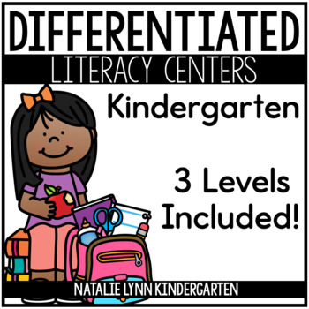 Kindergarten Literacy Centers for the Year