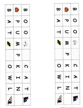 Kindergarten Literacy Games Sets 1 & 2 with Seasonal Recording Sheets