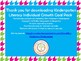 Kindergarten Literacy Individual Growth Goal Pack