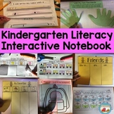 Kindergarten Literacy Interactive Notebook* Printable and/