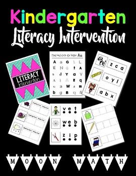 Kindergarten Literacy Intervention