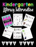 Kindergarten Literacy Intervention