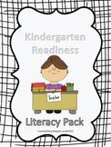 Kindergarten Literacy Pack