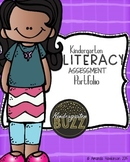 Kindergarten Literacy (Reading) Assessment Portfolio