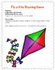 Kindergarten-Literacy- Sp. Ed.- Rhyming Game-Go Fly a Kite
