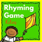 Kindergarten-Literacy- Sp. Ed.- Rhyming Game-Kites