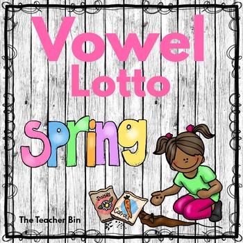 Kindergarten - Literacy-Sp.Ed.--Vowel Lotto -Beginning Sounds- Spring