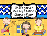 Kindergarten Literacy Stations Starter Pack!