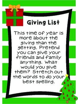 Kindergarten Literacy Stations for December with BONUS December Calendar Set