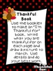 Kindergarten Literacy Stations for November with BONUS Calendar Pieces