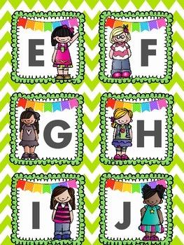 Kindergarten Literacy Write the Room