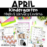 Kindergarten Literacy and Math Centers APRIL