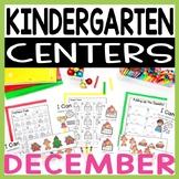 Kindergarten Literacy and Math Centers DECEMBER