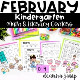Kindergarten Literacy and Math Centers FEBRUARY