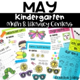 Kindergarten Literacy and Math Centers MAY