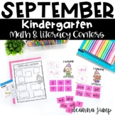 Kindergarten Literacy and Math Centers SEPTEMBER