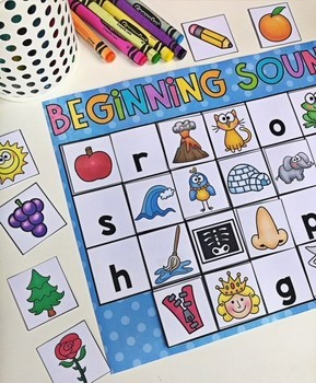 Kindergarten Literacy and Math Centers - THE MEGA BUNDLE