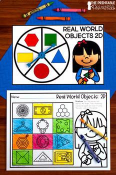 Kindergarten Literacy and Math Spinner Centers: Year Long BUNDLE