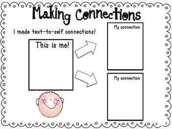 Kindergarten Literacy by Design Graphic Organizers BUNDLE