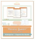 Emergency Sub Plans: Kindergarten: ELA: Recess Queen