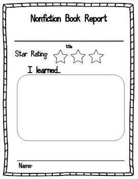 Kindergarten Literature and Informational Book Review