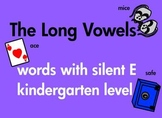 Kindergarten Long Vowels Silent E Write and Read Common Co