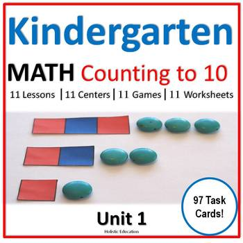 Kindergarten Math: Counting to 10