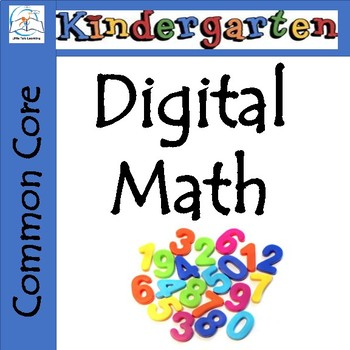 MATH Game for Kindergarten - Computer-Based - Common Core Aligned