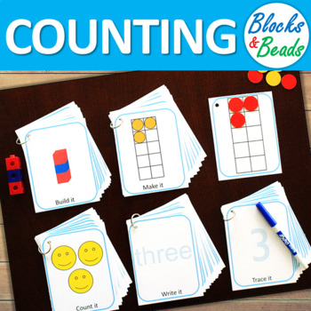 Kindergarten MATH Task Cards: Counting to 10