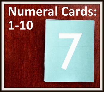 Kindergarten MATH: Writing Numbers to 10