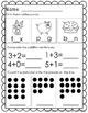 Kindergarten MAY Morning Work- Common Core