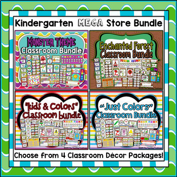 Kindergarten MEGA Store Bundle